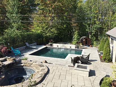 construction piscine Chambly